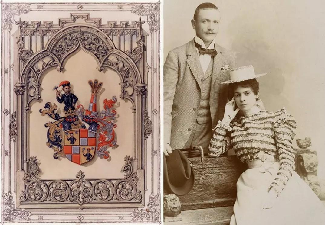 Countess Ottilie dan Count Alexander von Faber-Castell