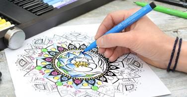 Seni Mewarnai untuk Relaksasi dan Menjaga Mood