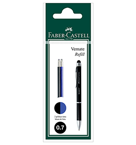 Refill Vernate Set 2 In Pouch Black and Blue Ink