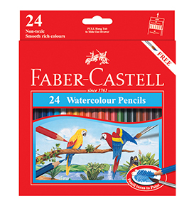 Watercolour Pencils 24 L