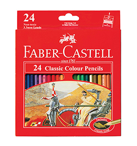 Classic colour pencils 24