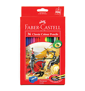 Classic colour pencils 36