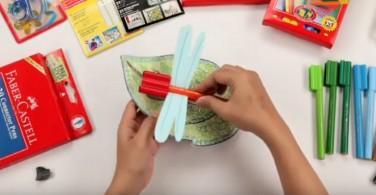 Tutorial membuat Craft Dragonfly Connector Pen