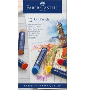 Oil pastel crayons box of 12