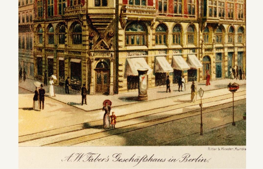"""Gedung """"Faberhaus"""" di Berlin"""
