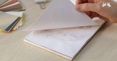 Pitt Artist Pen Tidak Tembus Kertas