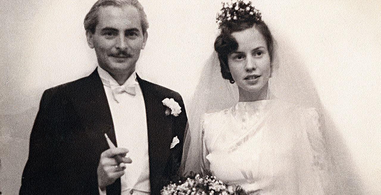 Pernikahan dengan Katharina Sprecher von Bernegg pada 8 Desember 1938