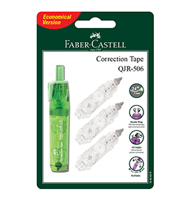 Correction Tape QJR 506Barrel Green +1 Refill