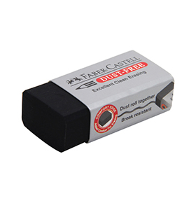 Eraser Medium Black