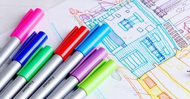 Lebih Semangat Belajar dengan Pena Berwarna Faber-Castell
