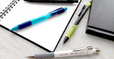 Pensil mekanik terbaik untuk menggambar dan menulis