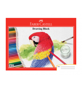 Drawing Book A4 parrot