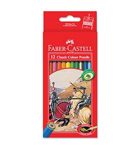 Classic Colour Pencils 12 L