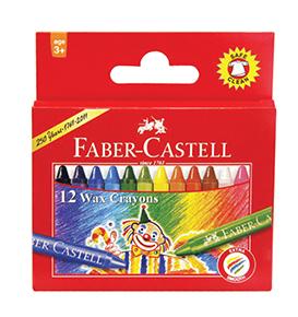 Wax Crayons Regular 12 pcs