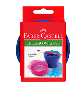 Clic & Go Watercup blue