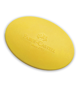 Grip Eraser Oval in Polybag