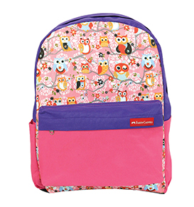 Backpack Owl Pink