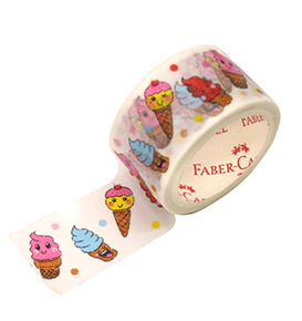 Decorative Paper Tape Ice Cream