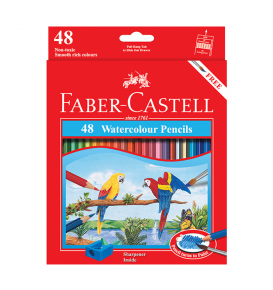Watercolour Pencils 48 L