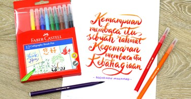 Faber-Castell Calligraphy Brush Pen