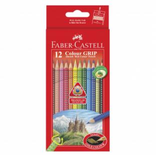 Colour Grip Pencils 12