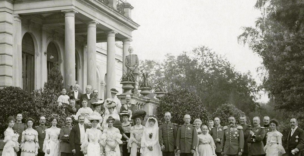 Marriage of Baroness Hedwig von Faber to Count Wolfgang zu Castell-Rüdenhausen, 1903