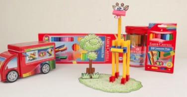 Cara Membuat Craft Giraffe dengan  Connector Pen