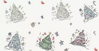 Warnai Pohon Natal Kreatif