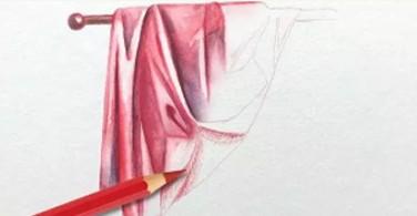 Menggambar lipatan kain dengan Albrecth Dürer Magnus