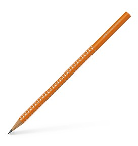Graphite pencil Sparkle orange