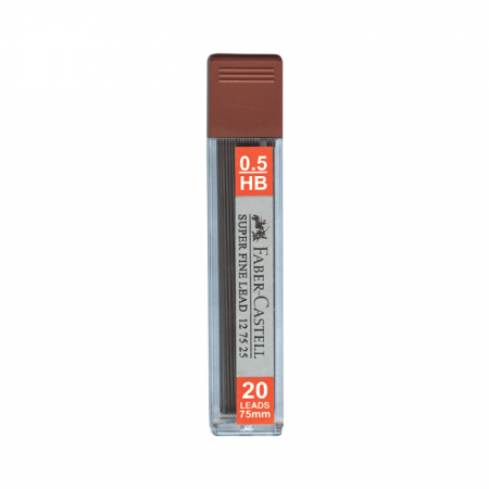 Superfine Leads HB 0.5mm