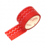 Decorative Paper Tape Red Pattern