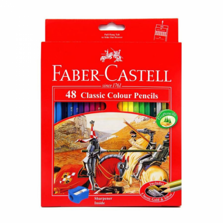 Classic colour pencils 48