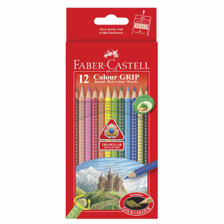 Colour Grip Pencils 12