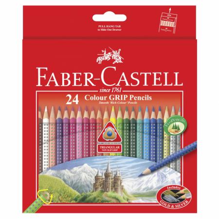 Colour Grip Pencils 24
