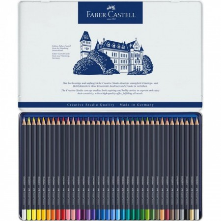Colour pencil Goldfaber tin of 36