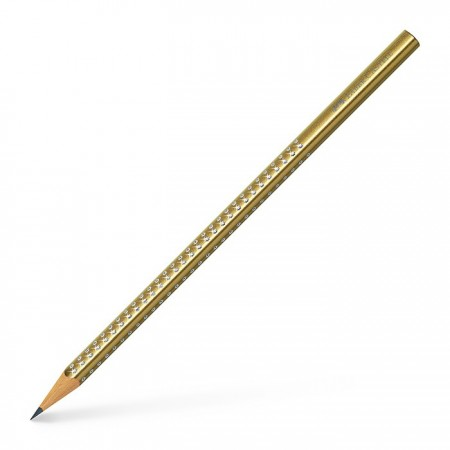 Graphite pencil Sparkle gold