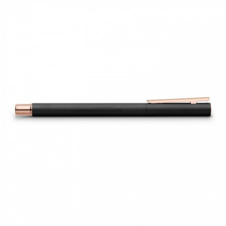 NEO Slim roller ball black matt, rose gold chrome